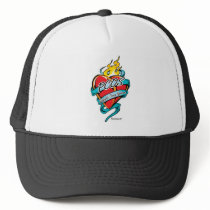PCOS Tattoo Heart Trucker Hat