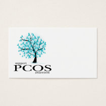 PCOS Tree Business Card