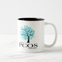 PCOS Tree Two-Tone Coffee Mug