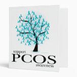 PCOS Tree Vinyl Binders