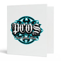 PCOS Tribal 3 Ring Binder