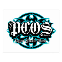 PCOS Tribal Postcard