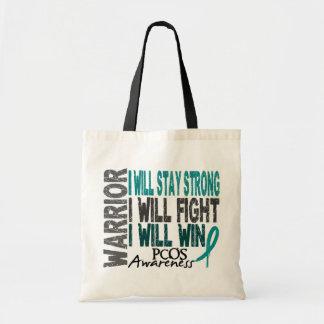 PCOS Warrior Budget Tote Bag