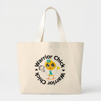 PCOS Warrior Chick Canvas Bag