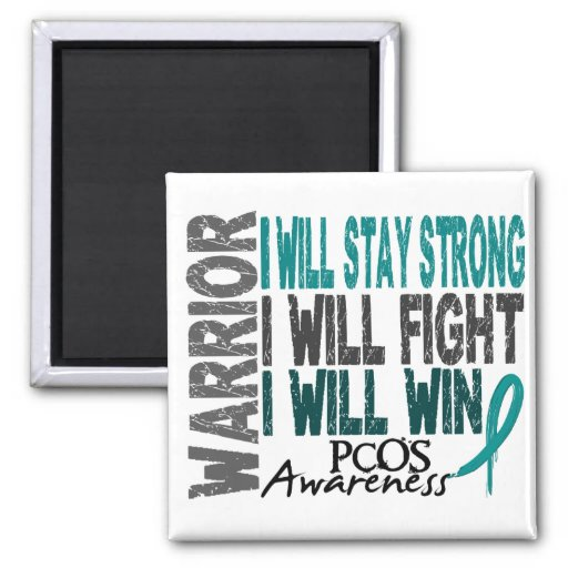 PCOS Warrior Magnets