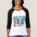 PCOS Warrior T-shirt