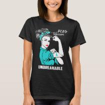 PCOS Warrior Unbreakable T-Shirt