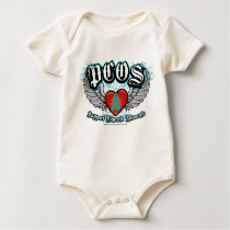 PCOS Wings Baby Bodysuit