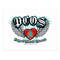 PCOS Wings Postcard