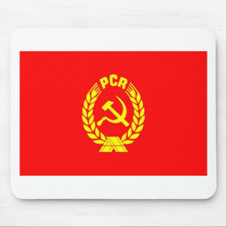 PCR flag Mouse Pad