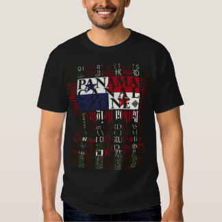 PCZ – Panama Canal Zone Locations wth Colors T-Shirt