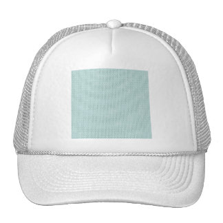 pd19 BABY BLUE COUNTRY LIGHT GRUNGE POLKADOT POLK Hats