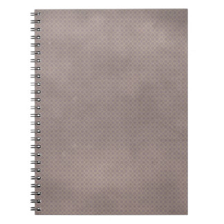 pd45-gray GRAY GREY TEXTURES SOLID BACKGROUND PATT Notebook