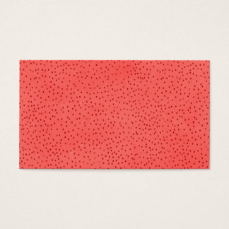 pd51-red CHERRY STRAWBERRY CHEERFUL BRIGHT RED  RA Business Card