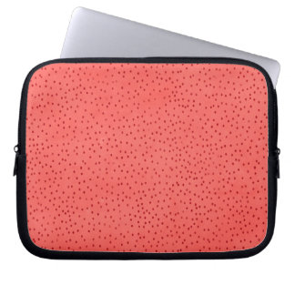 pd51-red CHERRY STRAWBERRY CHEERFUL BRIGHT RED  RA Laptop Computer Sleeves