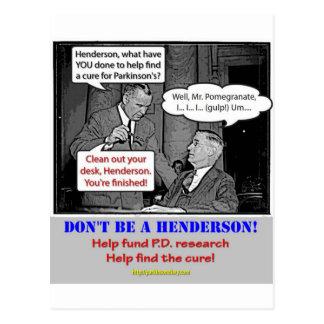 PD Funding Postcard