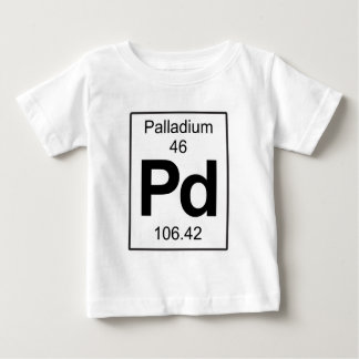 Pd - Palladium Baby T-Shirt