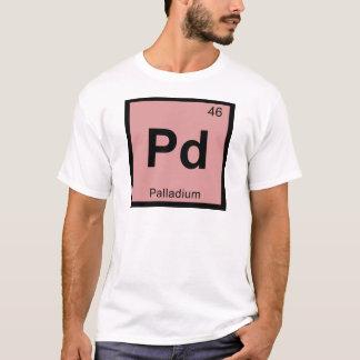 Pd - Palladium Chemistry Periodic Table Symbol T-Shirt