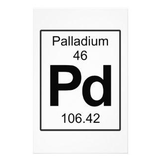 Pd - Palladium Stationery