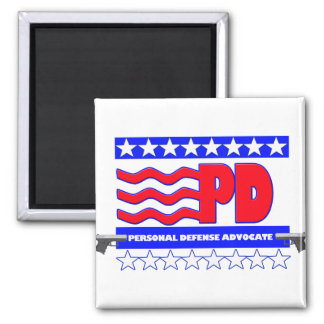 PD (PERSONAL DEFENSE ADVOCATE MAGNET