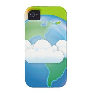 pdf_vector-Earth EARTH iPhone 4 Case