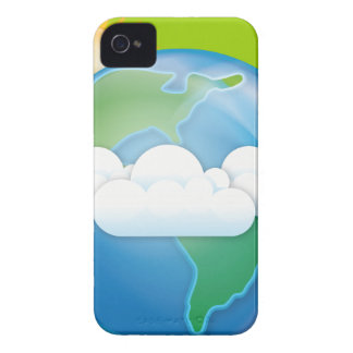 pdf_vector-Earth EARTH iPhone 4 Cover