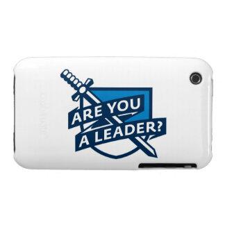 PDT - Azul del esquema del líder Case-Mate iPhone 3 Carcasa