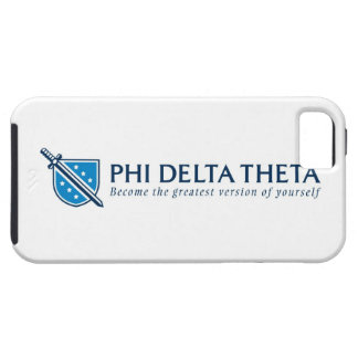 PDT- Become the Greatest Version of Yourself Blue iPhone 5 Cover