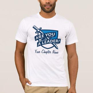 PDT - Leader Outline Blue T-Shirt