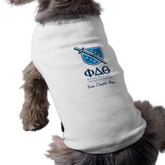PDT - Stacked Become the Greatest Blue 1 Dog Tee Shirt