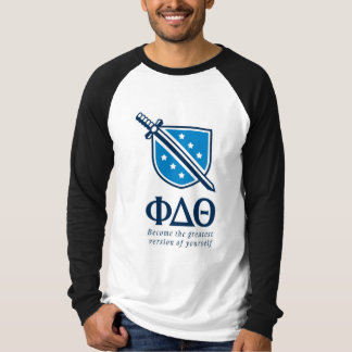 PDT - Stacked Become the Greatest Blue 1 T-Shirt