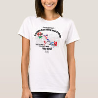 PDT's 2013 Europe Vacation T-shirt - Lady's