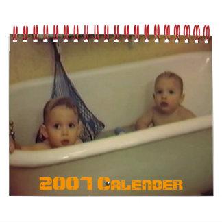 PDVD_017 2007 Calender Wall Calendar