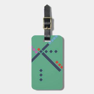 PDX Airport Carpet Bag Tag