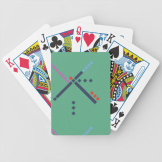 PDX Airport Carpet Bicycle Playing Cards