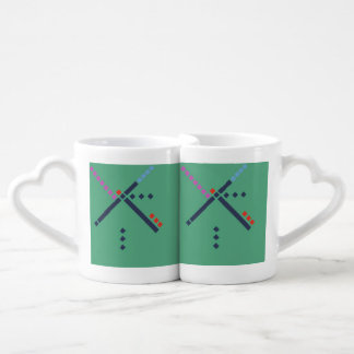 PDX Airport Carpet Coffee Mug Set