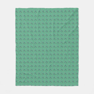 PDX Airport Carpet Fleece Blanket