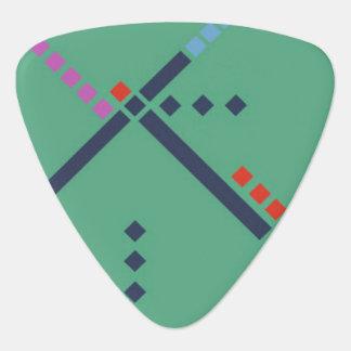 PDX Airport Carpet Guitar Pick