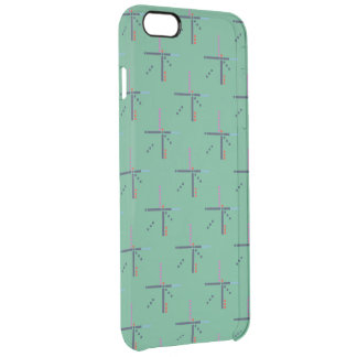 PDX Airport Carpet Uncommon Clearly™ Deflector iPhone 6 Plus Case