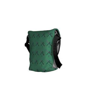 PDX Airport Carpet Messenger Bag