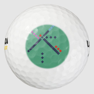 PDX Airport Carpet Pack Of Golf Balls