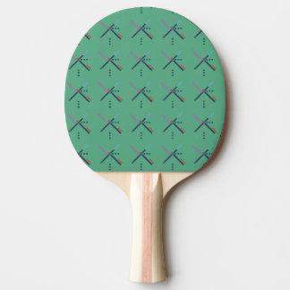 PDX Airport Carpet Ping Pong Paddle