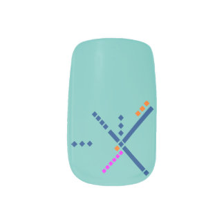 PDX Airport Carpet Portland Oregon Minx® Nail Wraps