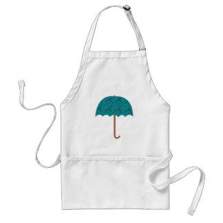 PDX Airport Carpet Umbrella Adult Apron