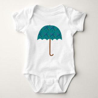 PDX Airport Carpet Umbrella Baby Bodysuit