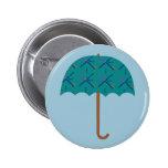 PDX Airport Carpet Umbrella Button
