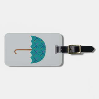 PDX Airport Carpet Umbrella Tags For Luggage