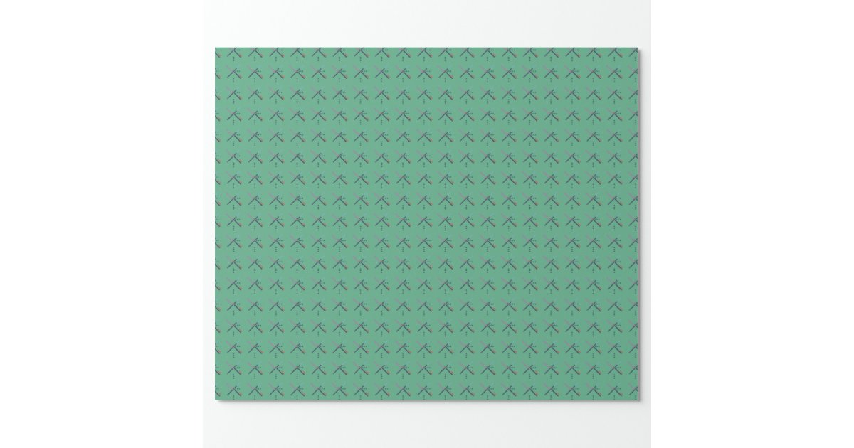 PDX Airport Carpet Wrapping Paper Zazzle