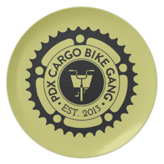 PDX Cargo Bike Gang Store Plates