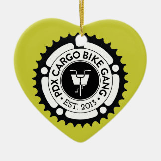 PDX CBG Heart Ornament